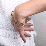 Toscano Circles Bracelet 14K