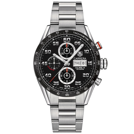 TAG Heuer Carrera Calibre 16 Chronograph, 43mm