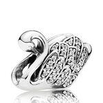 PANDORA Majestic Swan Charm