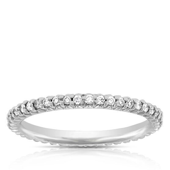 Roberto Coin Diamond Eternity Ring 18K