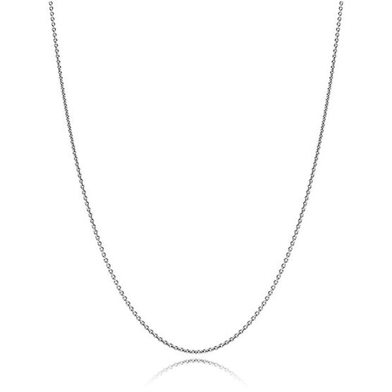"PANDORA Oxidized Sterling Silver Chain 45cm / 17.7"""