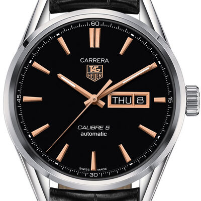 TAG Heuer Carrera Calibre 5 Day-Date Automatic Watch