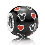PANDORA Disney Mickey & Hearts Charm