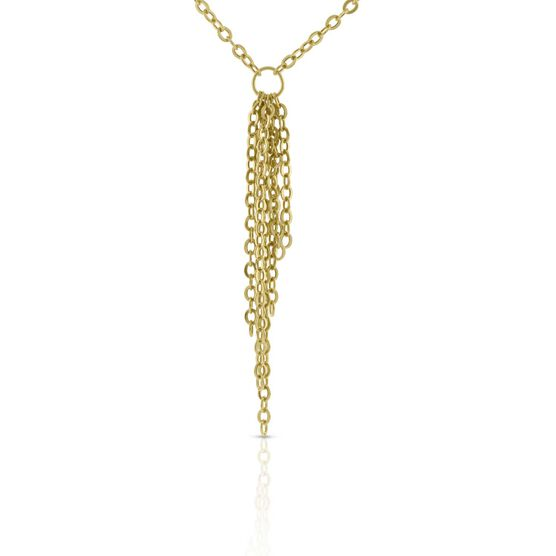 Dangle Chain Necklace 14K