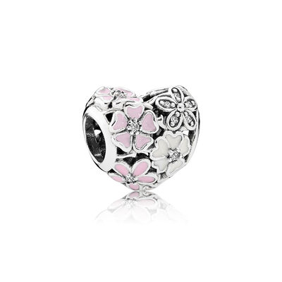 PANDORA Clear Poetic Booms Charm