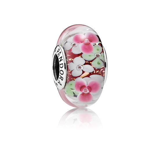 PANDORA Flower Garden Glass Charm