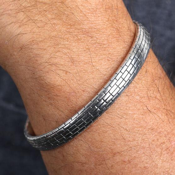 Men's Sterling Silver Cuff Bracelet