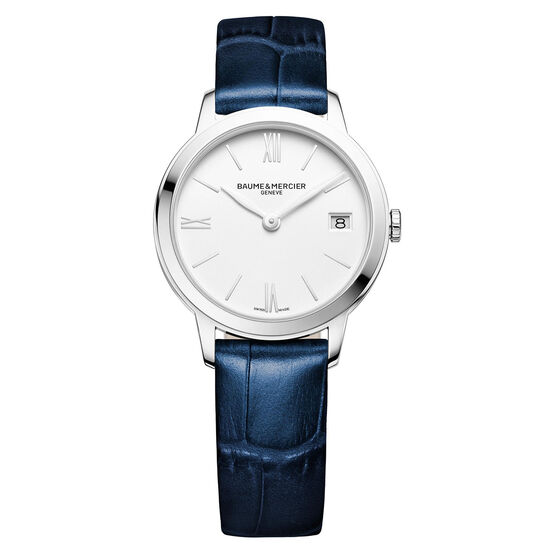 Baume & Mercier CLASSIMA Blue Strap Watch