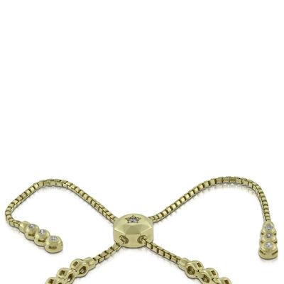 Diamond Bolo Bracelet 14K