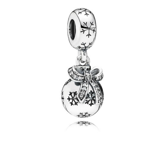 PANDORA Christmas Ornament CZ Charm