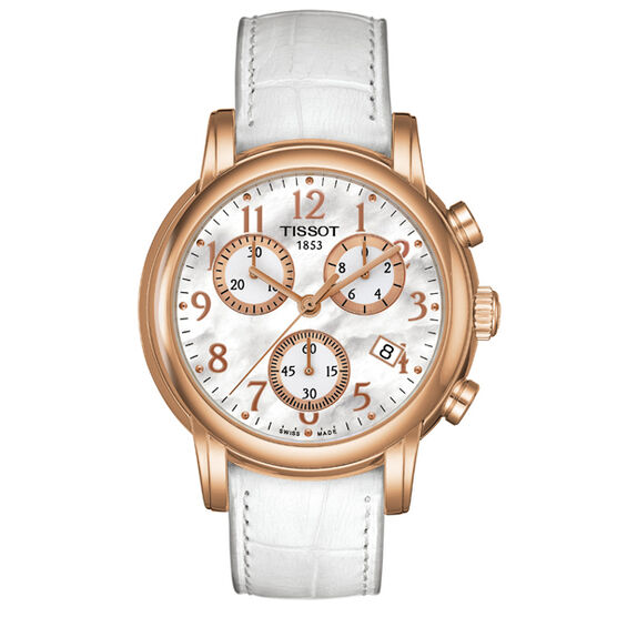 Tissot Dressport Mother-of-Pearl Chronograph