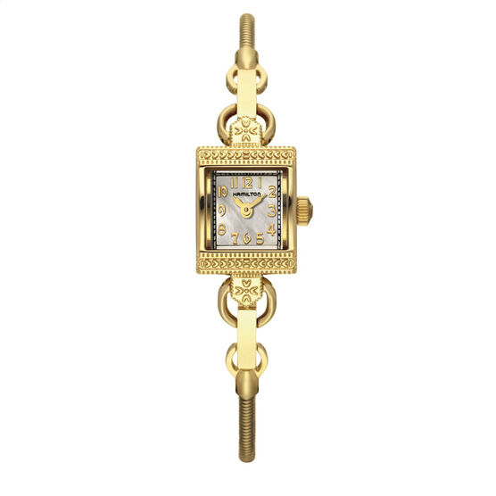 Lady Hamilton 'Vintage' Mother-of-Pearl Watch