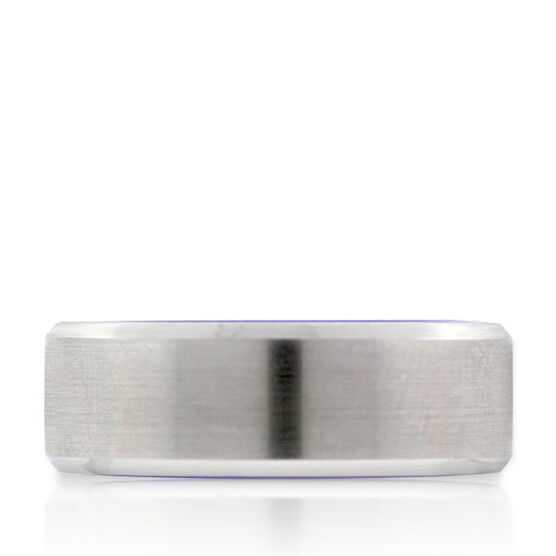 Men's Band in White TungstenAIR
