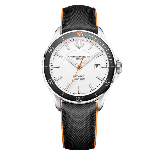 Baume & Mercier CLIFTON CLUB White Dial Watch