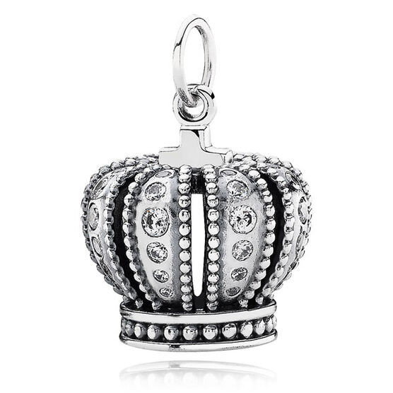 PANDORA Royal Crown Pendant RETIRED