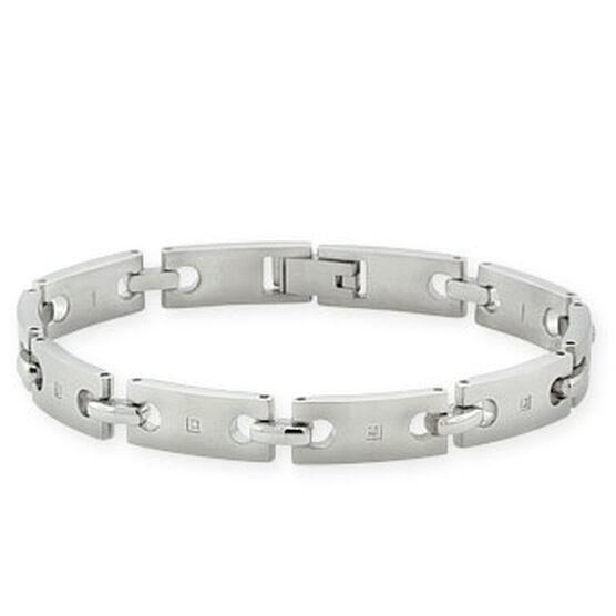 s bracelet in stainless steel ben bridge jeweler