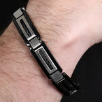 Stainless Steel and Cable Bracelet