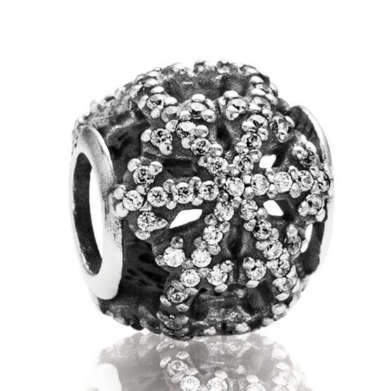 PANDORA 2013 Black Friday Pavé Snowflake Charm RETIRED
