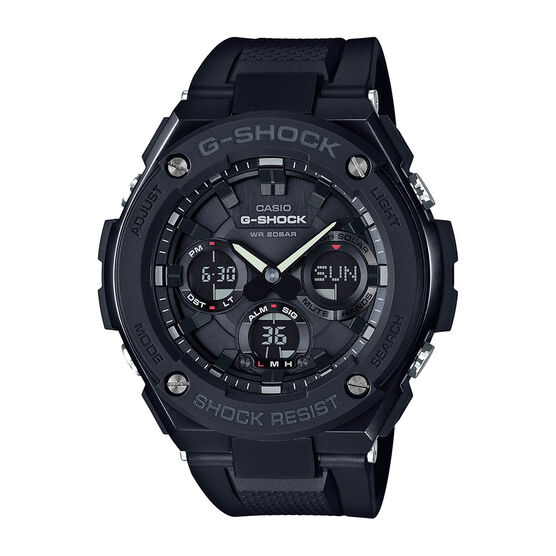 G-Shock G-Steel Black Solar  Watch