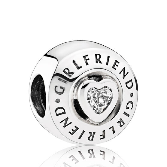 PANDORA Girlfriend CZ Charm