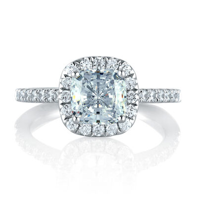 A.JAFFE Diamond Semi-Mount Ring 14K