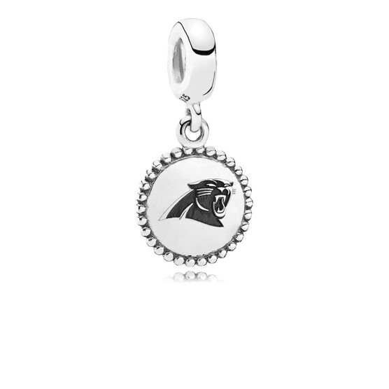 PANDORA Carolina Panthers Charm