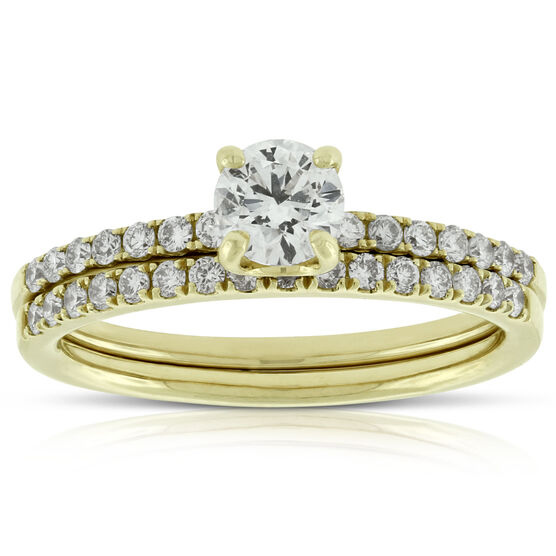Classic Diamond Bridal Set 14K