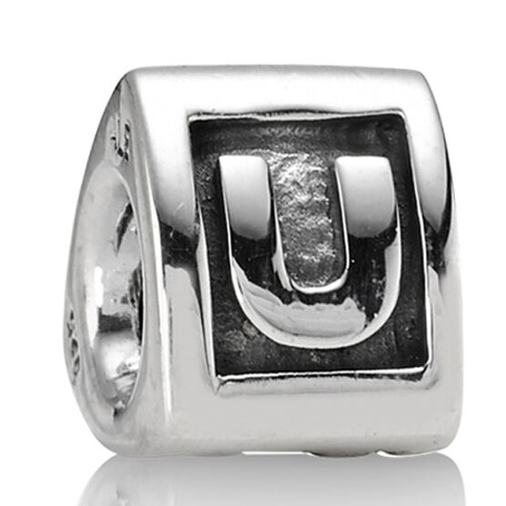 PANDORA Alphabet 'U' Charm RETIRED