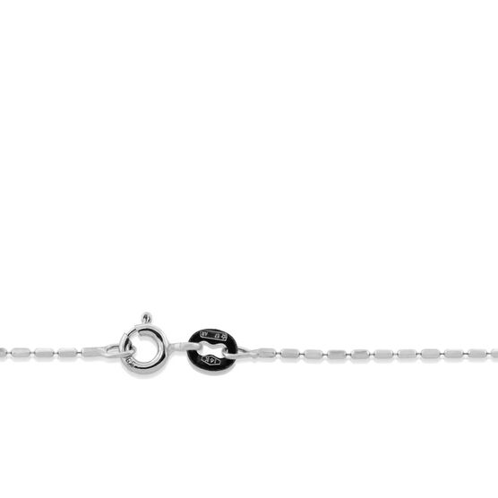 """Square Bead Link Chain 14K, 18"""""""