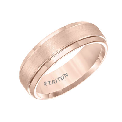 TRITON Rose Tungsten Carbide Band