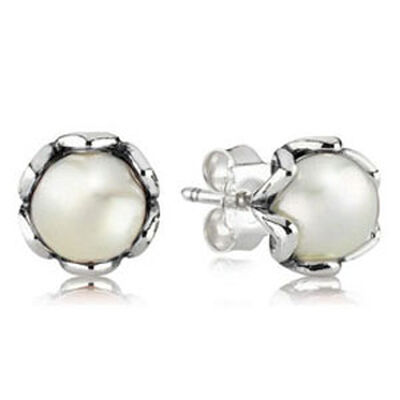 PANDORA Cultured Elegance Pearl Stud Earrings