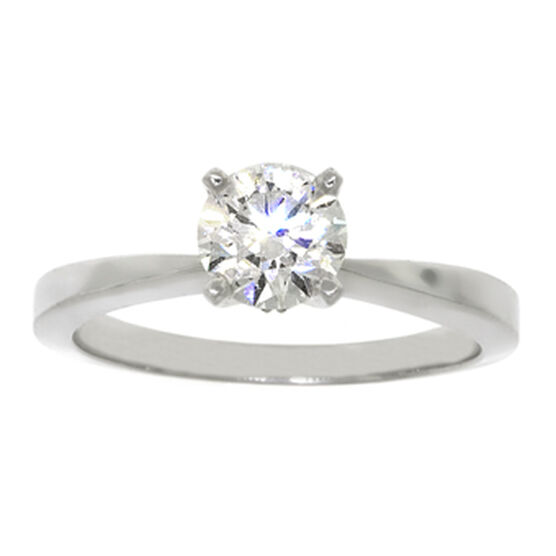 Ikuma Canadian Ideal Cut Diamond Solitaire Ring 14K, 3/4 ct.