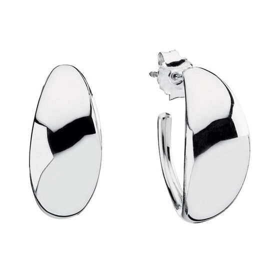 PANDORA Liquid Silver Flow Earrings  RETIRED