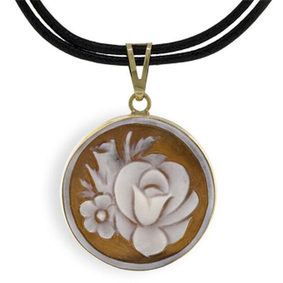 Toscano Collection Cameo Necklace 18K