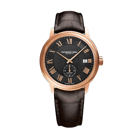 Raymond Weil Maestro Rose PVD Automatic Watch