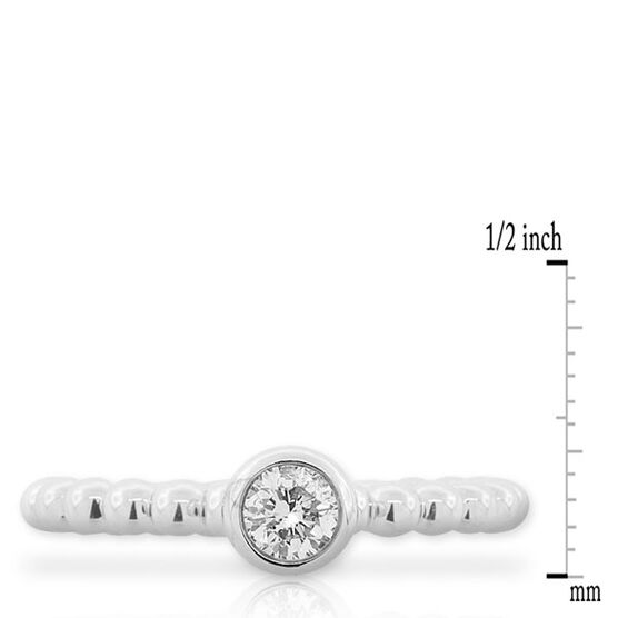 Diamond Stackable Ring 14K