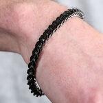 Black Stainless Steel Men's Bracelet