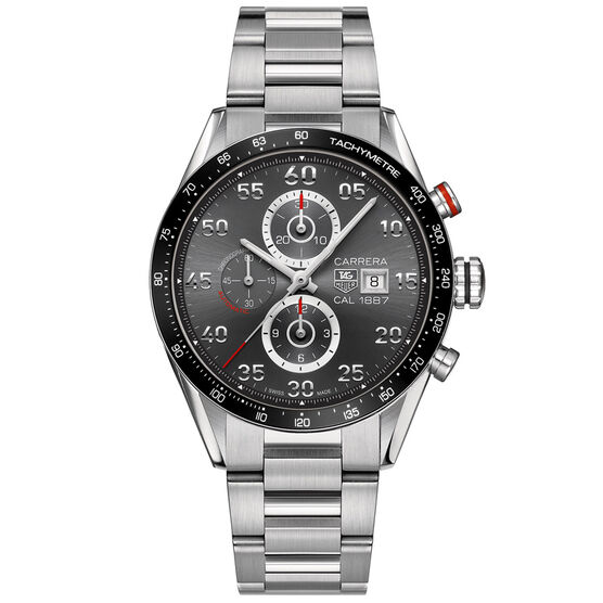 TAG Heuer Carrera Calibre 1887 Chronograph, 43mm