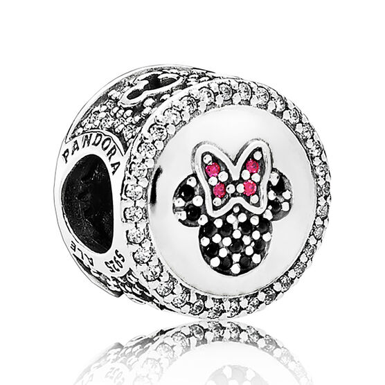 PANDORA Limited Edition Mickey & Minnie Sparkling Icon CZ Charm