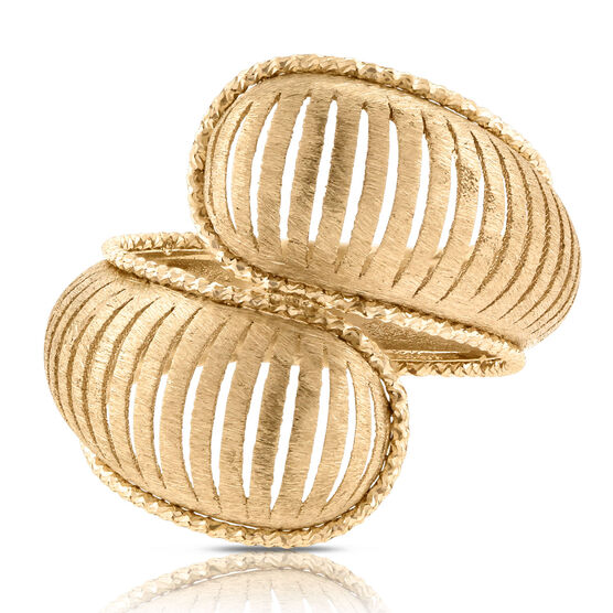 Toscano Collection Bypass Ring 14K