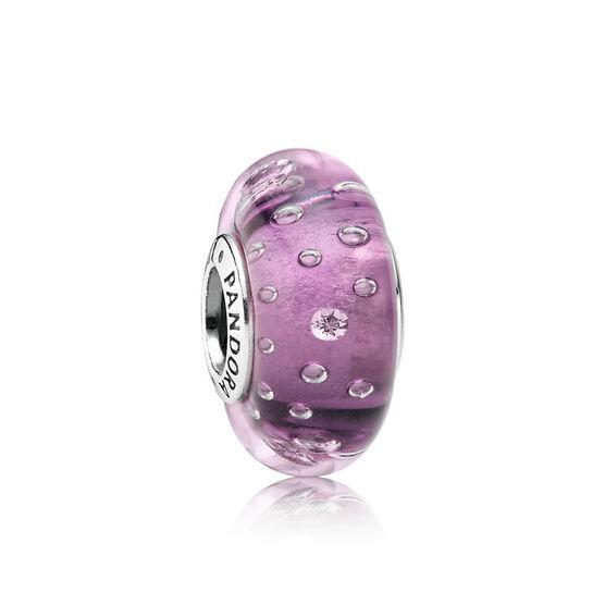 PANDORA Purple Effervescence Charm