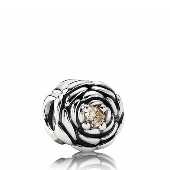 PANDORA Blooming Rose Charm RETIRED