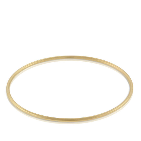 Toscano Collection Round Bangle Bracelet 18K