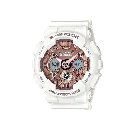 G-Shock Pink & White GS Watch