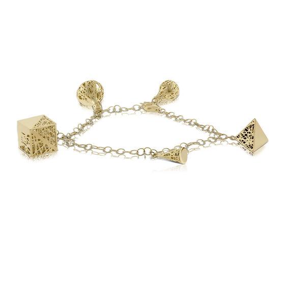 Toscano Charm Bracelet 14K