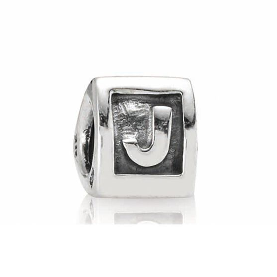 PANDORA Alphabet 'J' Charm RETIRED