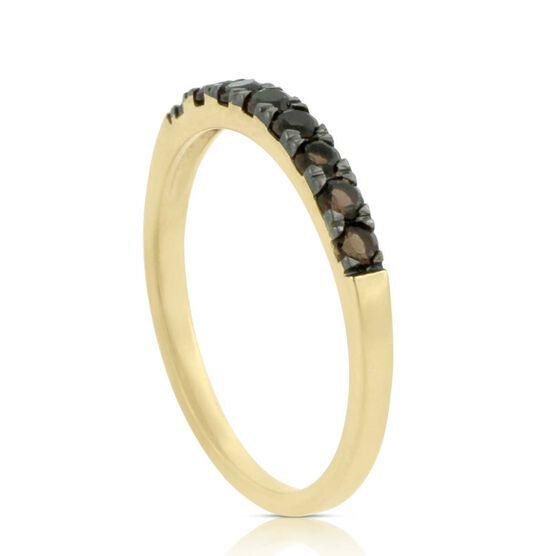 Smoky Quartz Ring 14K
