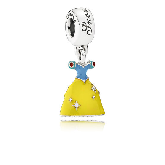PANDORA Disney Snow White's Dress Charm
