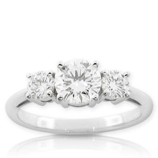 Forevermark Diamond Ring 14K, VS 1 ct. center