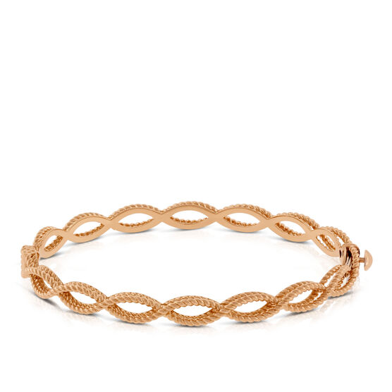 Roberto Coin Rose Gold Barocco Bangle 18K